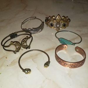 Boho Gypsy Bracelet Cuff Lot ❤